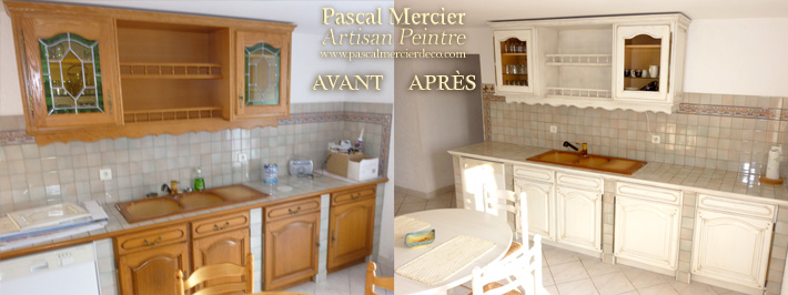 Peintre decorateur nimes bouillargues gard pascal for Renovation cuisine equipee
